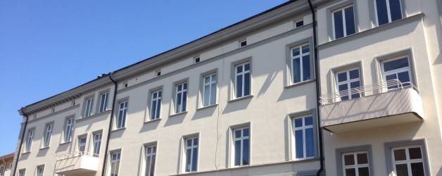 Fasadrenovering: Kv Hallonet 7 i Jönköping.